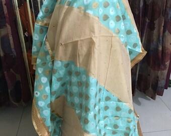Beautiful Chanderi cotton saree