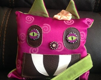 Cat Tooth Fairy Pillow