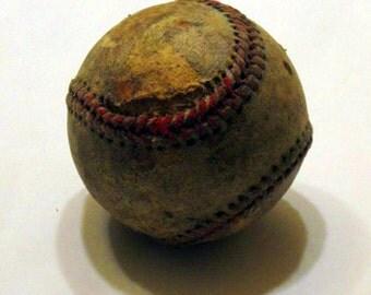 """Vintage BEAUTIFUL """"Used/Uglied"""" Baseball"""