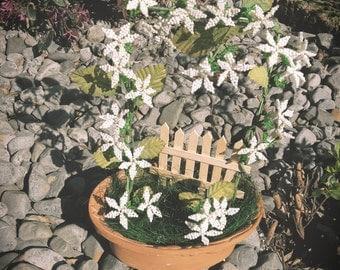 Jasmine, handmade beaded Tree