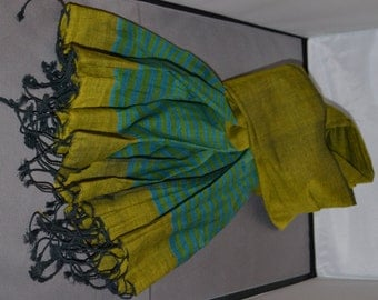 Hand-woven Luxury Cotton Scarves