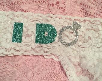 I Do Bridal Thong - Size Medium