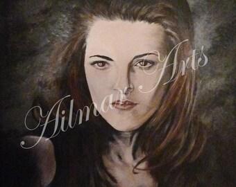 Bella Swan,Kristen Stewart,Twilight character portrait