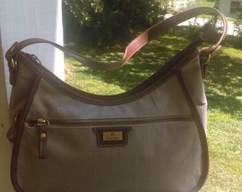 Etienne Aigner canvas hobo