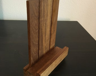 Handmade Wood Phone Stand