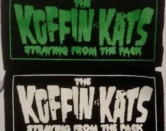 KOFFIN KATS (397) psychobilly punk patch