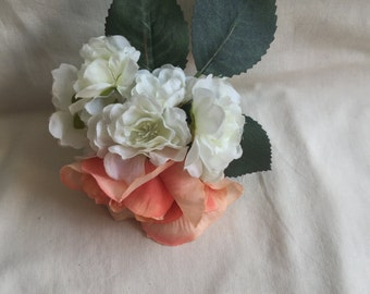 Roses & Apple Blossoms