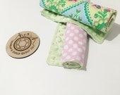 Burp Cloth Gift Set (Retro) - Burp Cloths, Baby Cloths, Baby Bibs, Baby Accessories, Feeding Cloths, Baby Gifts