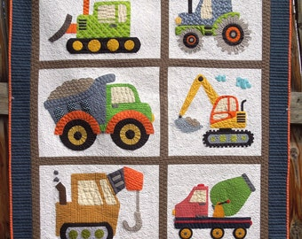 I Love Dirt Quilt Pattern