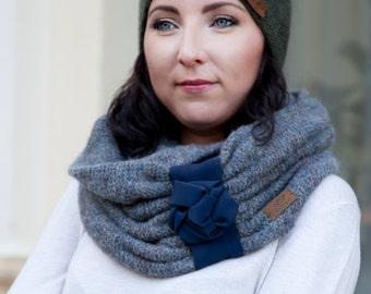 SALE 50 % OFF/ Snood / Wool snood/ Knitted snood/ scarf / gift for her/ stylish snood/ knitted scarf / scarves
