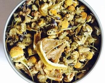 Lemon Lavender Lullaby Herbal Loose Leaf Tea & Hand-Filled Tea Bags