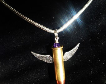Bullet Wing Necklace