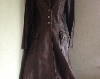 Mr John & Merivale Full Leather Coat