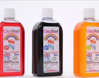 Classikool 3 x 250ml Slushie Slush Puppy Syrup: Raspberry, Strawberry & Lime / Machine Ready (Free UK Mainland Shipping)