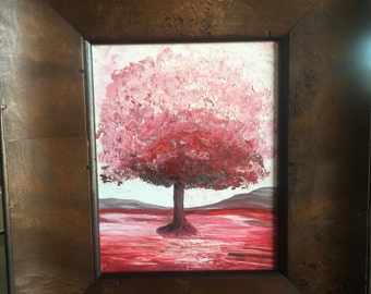 Acrylic Painting 8x10 with Rustic Frame