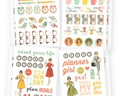 "Simple Stories ""The Reset Girl"" Icon Stickers"