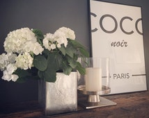 Chanel Noir - Coco Paris poster
