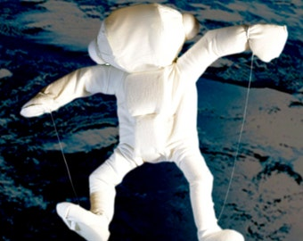 Astronaut puppet for theatre