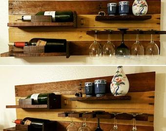 Horizontal Wine Rack
