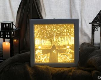 "Lightbox ""The Tree of Life"""