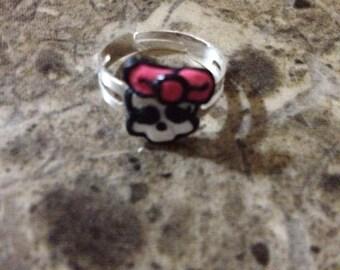 Monster High skull ring