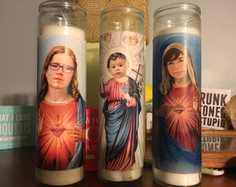 Customized/Personalized Prayer Candles