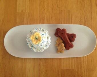 Crocheted Cupcake Plush - small