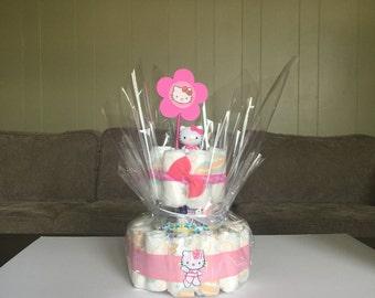 HK theme diaper cake