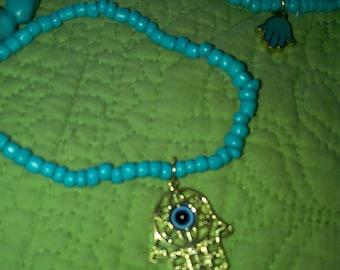 Hamsaw protection bracelet
