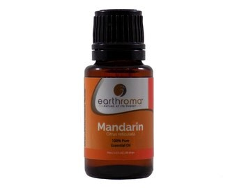Mandarin Essential Oil | 5 mL | 15 mL | 30 mL | 100% Pure Therapeutic Grade