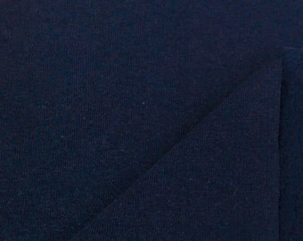 Sherpa Fleece Fabric By the Yard (Wholesale Price Available By the Bolt) USA Made Premium Quality - 6066 Navy - 1 Yard