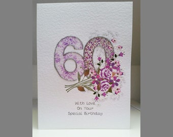 Special Wishes Large Birthday Special Age 60 Card SW BI19