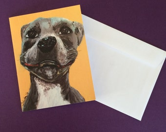 Pit Bull Note Card Set