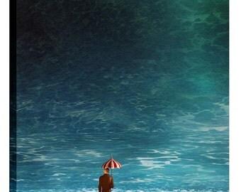 "Giclee Canvas Wall Art ""Oblivious"" by Cynthia Decker"