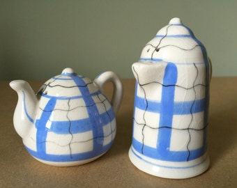 1950s Coffee and Tea Pot Salt and Pepper Shakers Made in Post War Japan