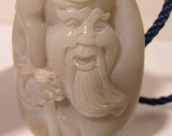 Large Jadeite Jade Hand Play / Charm / Carving