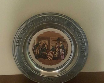 1776 The Great American Collective Plate