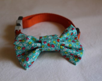 Floral Dog Bow Tie