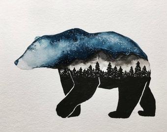 Wild Starry Sky Bear