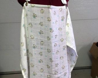 Breastfeeding apron