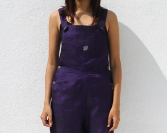 Handwoven cotton Dungarees
