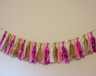 Rose, Golden birthday Garland