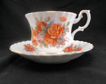 Royal Albert Tea Cup Centennial Pattern