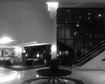 Late night lobby