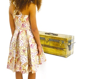 Childs Monsoon Jacquered Dress - Teen by Storm