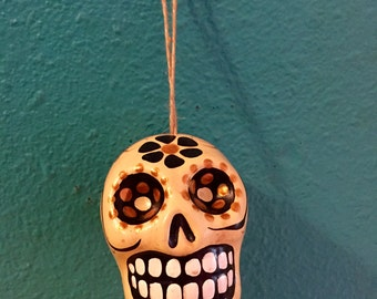 Clay Day of the Dead Skull