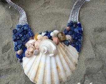 "Necklace ""Caribbean Sea"""