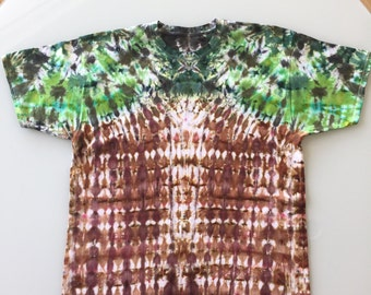 Tie Dye Handcrafted T-Shirt Size: XL