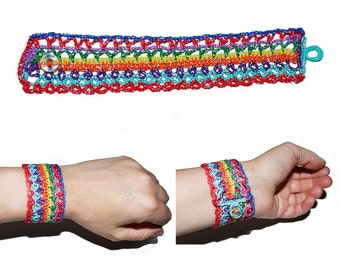 Bracelet crochet-model Arianna