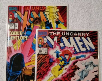 Uncanny X-Men #308 and #310